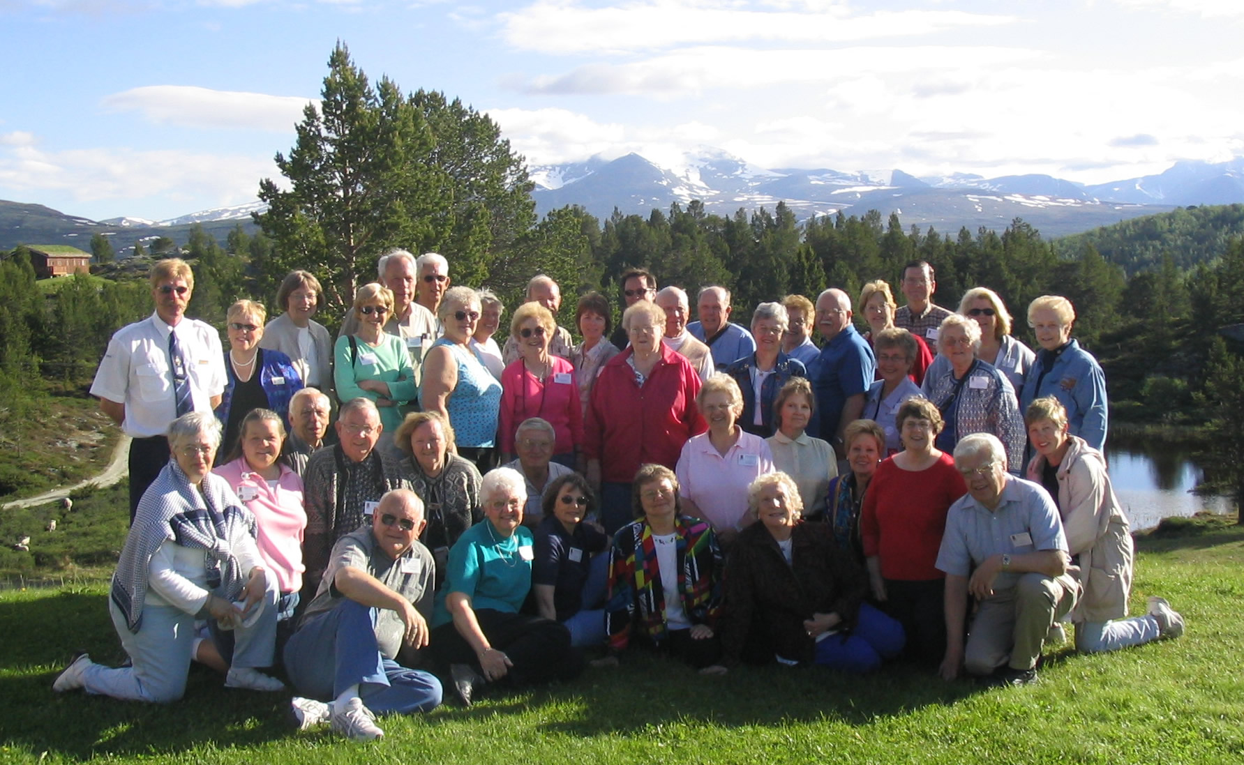 Group photo from Otta, Norway