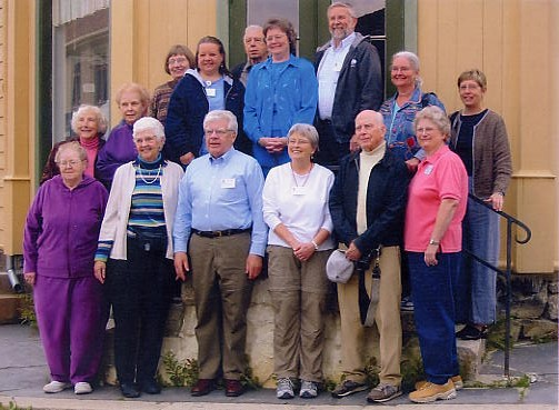 Group photo at Maihaugen in Lillehamar, Norway